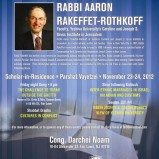 Rabbi Aaron Rakeffet-Rothkoff in Fair Lawn, NJ